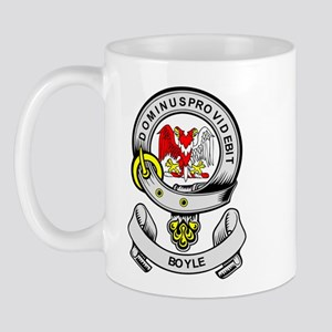 BOYLE 2 Coat of Arms Mug