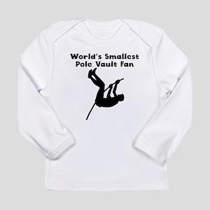 Worlds Smallest Pole Vault Fan Long Sleeve T-Shirt