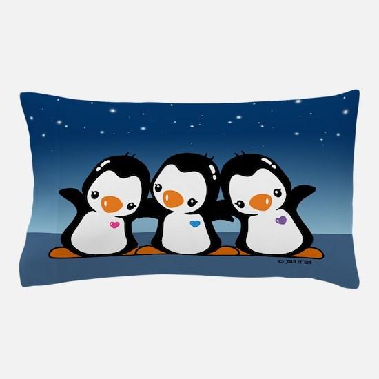 Penguins (together) Pillow Case