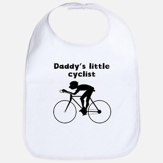 Daddys Little Cyclist Bib