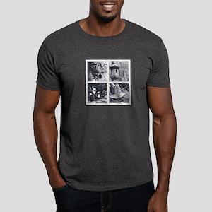Japanese 4Temples camara Dark T-Shirt