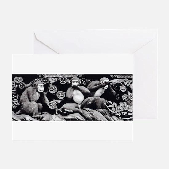 NoEvils camara Greeting Cards (Pk of 10)