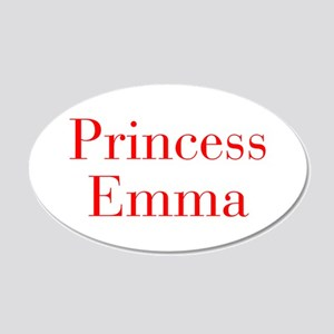 Princess Emma-bod red Wall Decal