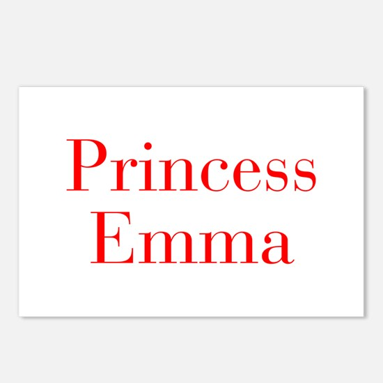 Princess Emma-bod red Postcards (Package of 8)