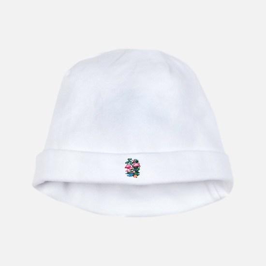 Wild Flamingos- baby hat