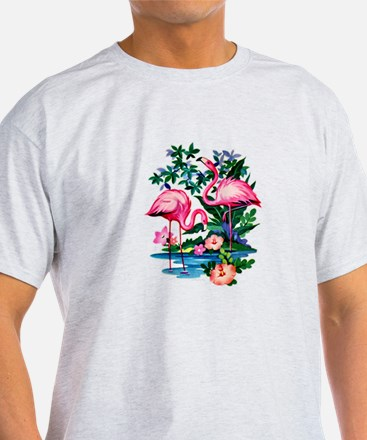 Wild Flamingos- T-Shirt