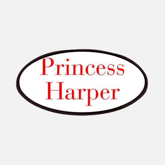 Princess Harper-bod red Patches