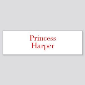 Princess Harper-bod red Bumper Sticker