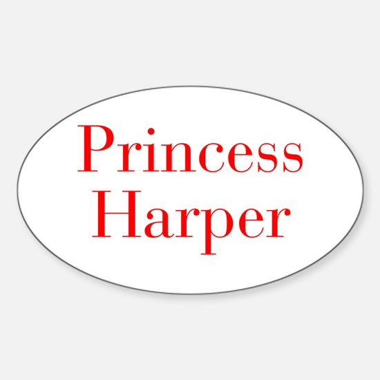 Princess Harper-bod red Decal