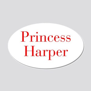 Princess Harper-bod red Wall Decal