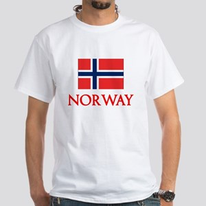 Norway Flag Design T-Shirt