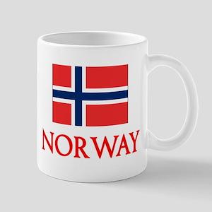 Norway Flag Design Mugs
