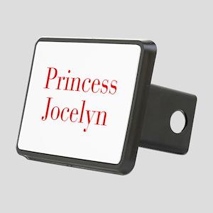 Princess Jocelyn-bod red Hitch Cover