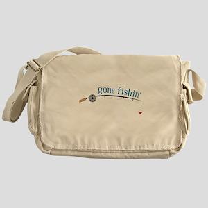 Gone Fishing Messenger Bag
