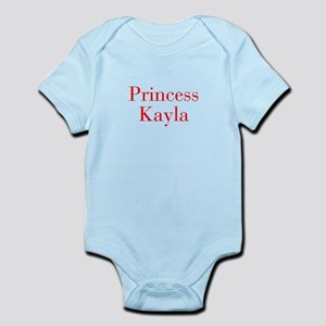 Princess Kayla-bod red Body Suit