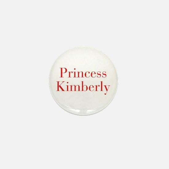 Princess Kimberly-bod red Mini Button