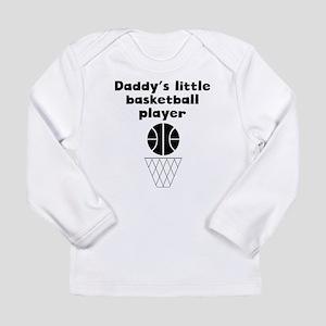 Daddys Little Basketball Player Long Sleeve T-Shir