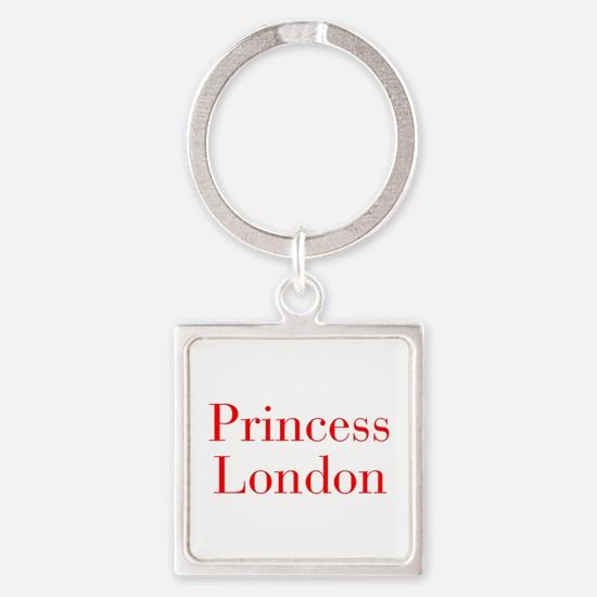 Princess London-bod red Keychains