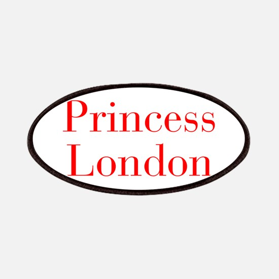 Princess London-bod red Patches