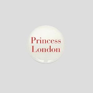 Princess London-bod red Mini Button