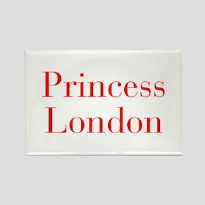 Princess London-bod red Magnets