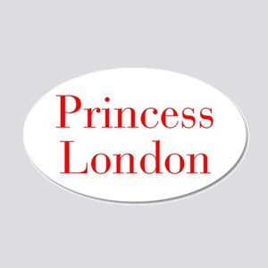 Princess London-bod red Wall Decal