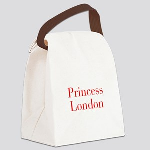 Princess London-bod red Canvas Lunch Bag