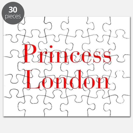 Princess London-bod red Puzzle