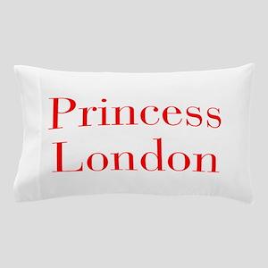 Princess London-bod red Pillow Case