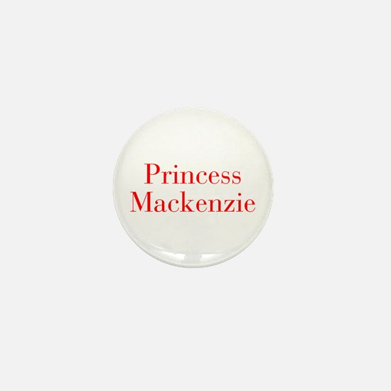 Princess Mackenzie-bod red Mini Button