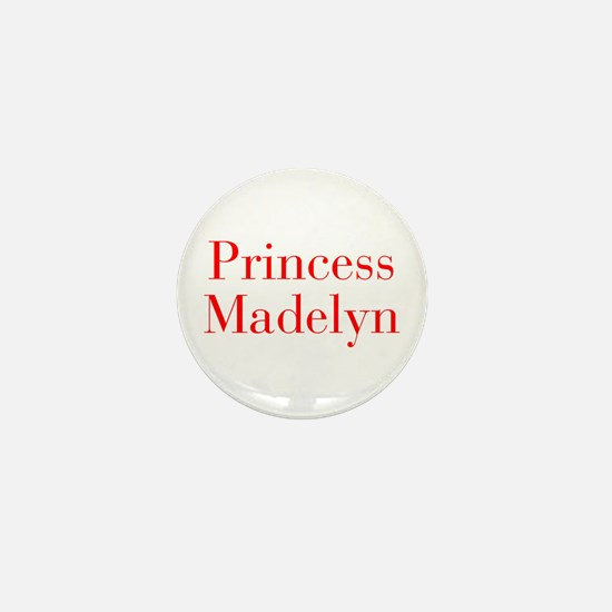 Princess Madelyn-bod red Mini Button