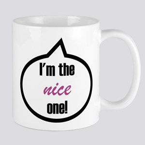 I'm the nice one! Stainless Steel Travel Mugs