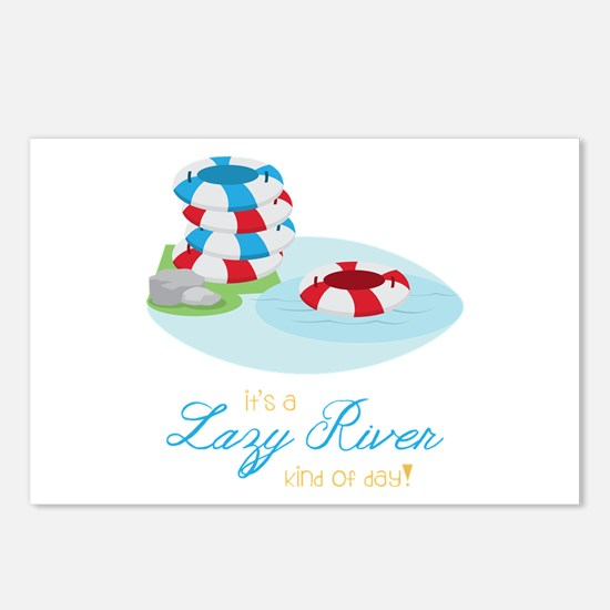 Lazy River Day Postcards (Package of 8)