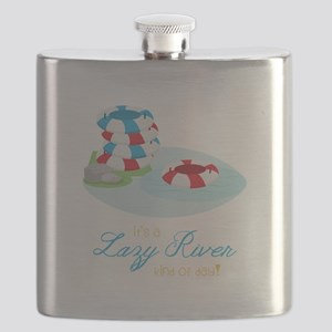Lazy River Day Flask