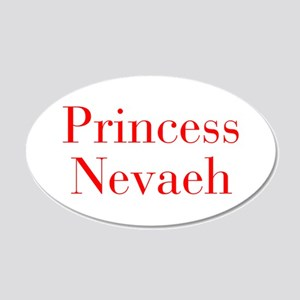 Princess Nevaeh-bod red Wall Decal