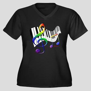 Keyboard Plus Size T-Shirt
