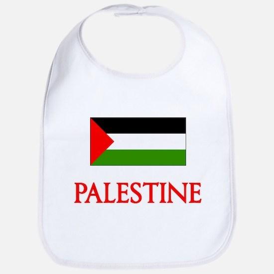 Palestine Flag Design Baby Bib