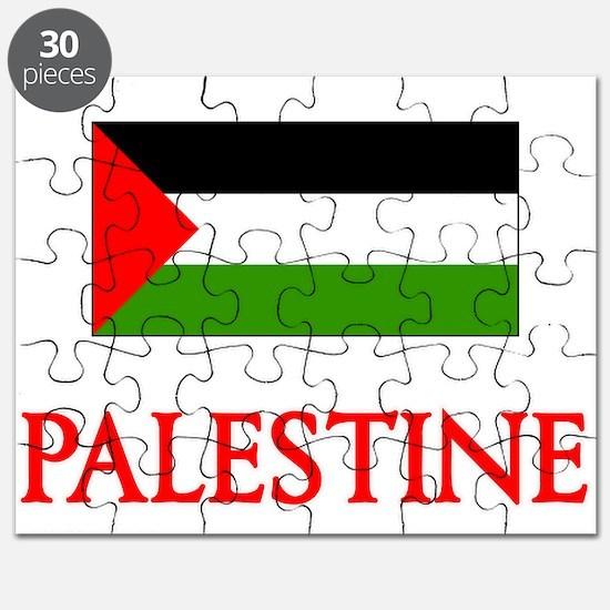 Palestine Flag Design Puzzle