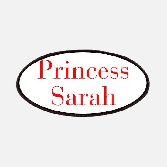 Princess Sarah-bod red Patches