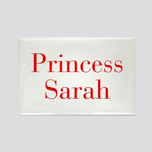 Princess Sarah-bod red Magnets