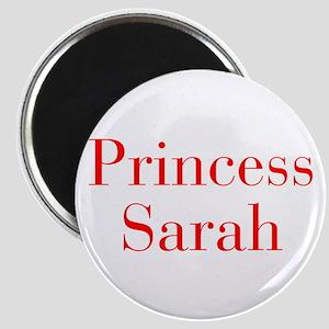 Princess Sarah-bod red Magnets