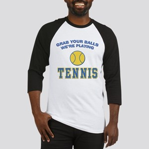 Grab Your Balls Tennis Baseball Jersey
