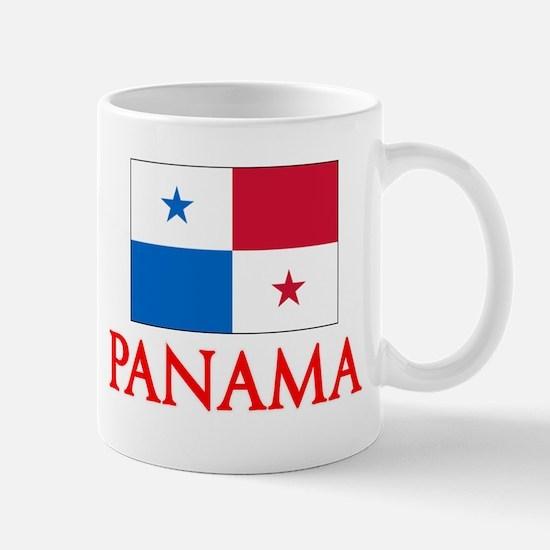 Panama Flag Design Mugs