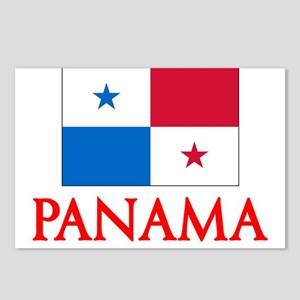 Panama Flag Design Postcards (Package of 8)