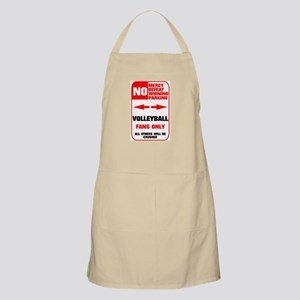 NO PARKING Volleyball Sign BBQ Apron