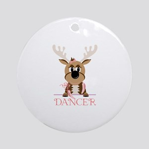 Dancer Ornament (Round)