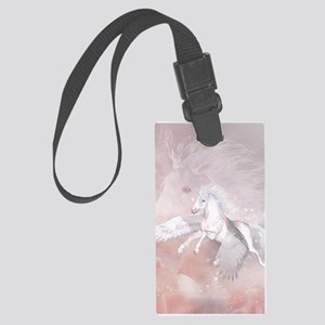 Flying Unicorn Luggage Tag