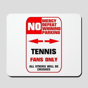 no parking tennis Mousepad