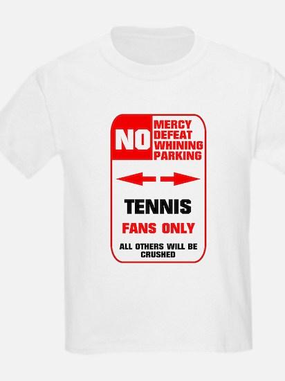 no parking tennis T-Shirt