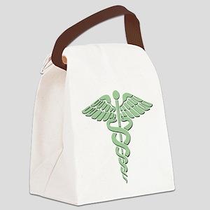 Caduceus Canvas Lunch Bag